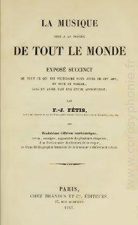 La musique mise à la portée de tout le monde, édition de 1847